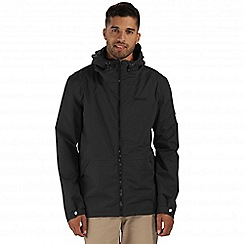 Regatta - Black harlan waterproof jacket
