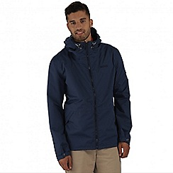 Regatta - Navy harlan waterproof jacket