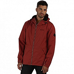 Regatta - Brown harlan waterproof jacket