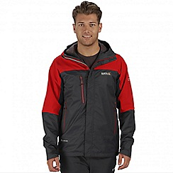 Regatta - Red cross penine hybrid waterproof jacket