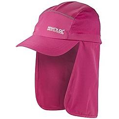 Regatta - Pink sun protector cap