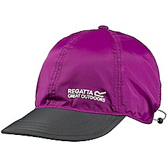 Regatta - Purple pack it peak cap