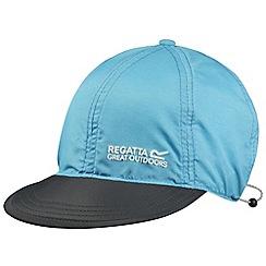 Regatta - Teal blue pack it peak cap