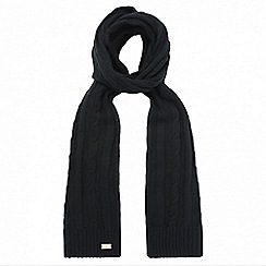 Regatta - Black 'Multimix' knit scarf