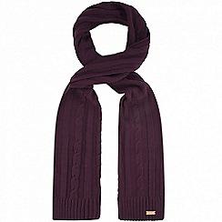 Regatta - Purple 'Multimix' knit scarf