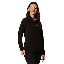 Regatta - Black Sweethart supersoft fleece