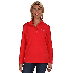 Regatta - Coral blush sweethart half zip fleece