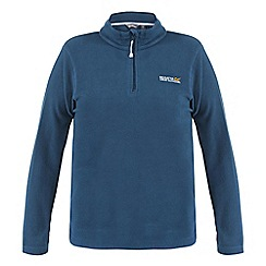 Regatta - Petrol blue sweethart half zip fleece