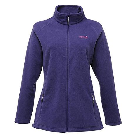 Regatta - Elderberry cathie half zip fleece