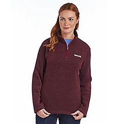Regatta - Dark burgundy embrace fleece