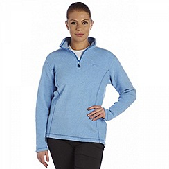 Regatta - Ocean blue embrace half zip fleece