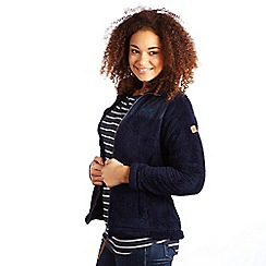 Regatta - Navy cuddle up f/z