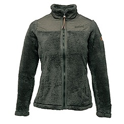 Regatta - Khaki green cuddle up full zip fleece