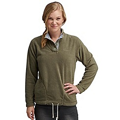 Regatta - Khaki green salt spray fleece