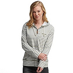 Regatta - Light clove sea dream hooded zip through sweater