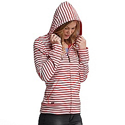 Regatta - Lollipop sea dream hooded zip through sweater