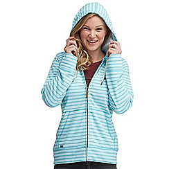 Regatta - Seascape sea dream hooded zip through sweater
