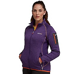 Regatta - Alpine purple laney full zip fleece