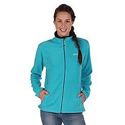 Regatta - Aqua clemance zip through fleece