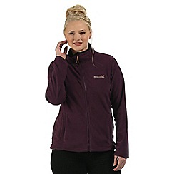 Regatta - Blackberry Clemance zip through fleece