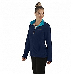 Regatta - Navy Clemance zip through fleece