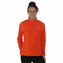 Regatta - Orange floreo fleece jacket