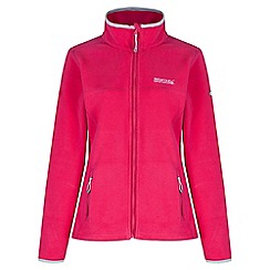 Regatta - Pink Floreo sporty zip through fleece