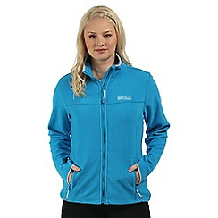 Regatta - Blue Floreo sporty zip through fleece