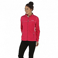 Regatta - Pink floreo fleece jacket