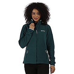 Regatta - Teal Floreo sporty zip through fleece