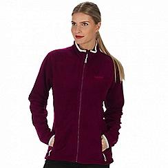 Regatta - Purple 'Floreo' fleece