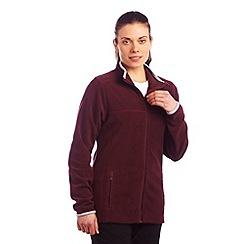 Regatta - Dk burgundy floreo fleece
