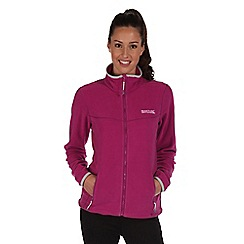 Regatta - Vivid viola floreo sporty zip through fleece