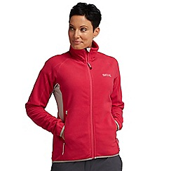 Regatta - Fuschia womens gridnorth fleece