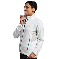 Regatta - White womens gridnorth fleece