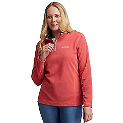 Regatta - Pink sweetie half zip fleece