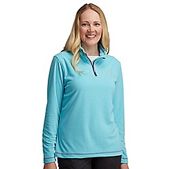 Regatta - Aqua lifetime half zip fleece