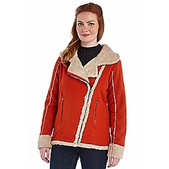 Regatta - Orange bessel fleece