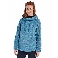 Regatta - Petrol blue kizmit hooded fleece