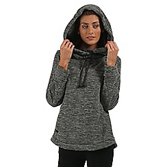 Regatta - Grey Kizmit hooded fleece