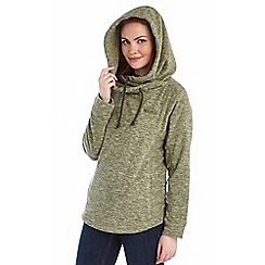 Regatta - Khaki kizmit hooded fleece