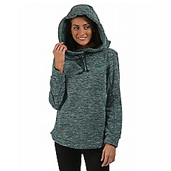 Regatta - Teal Kizmit hooded fleece