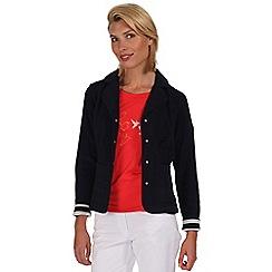 Regatta - Navy trissie fleece blazer