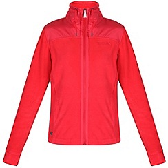 Regatta - Red delia zip through fleece