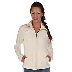 Regatta - White delia zip through fleece
