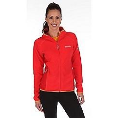 Regatta - Pink seymore sporty fleece jacket