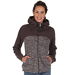 Regatta - Grey clover hooded fleece