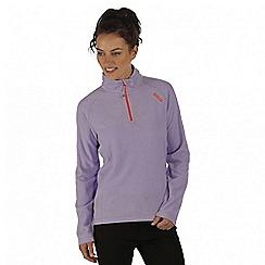 Regatta - Purple montes fleece sweater