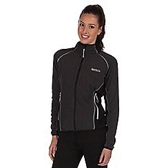 Regatta - Black jomor lightweight fleece jacket