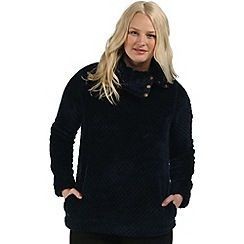 Regatta - Navy Hera fleece sweater